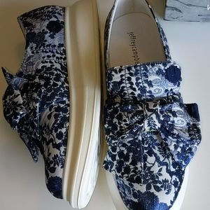 Jeffrey Campbell fabric shoes